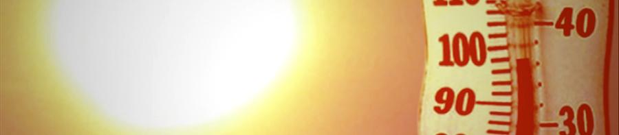 Banner-hot summer